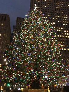 Christmas tree NYC 2015