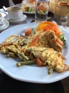 veg omelette Amsterdam