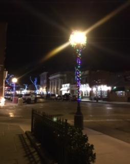 Northport Holiday lights Main Street 2017