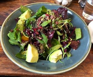 pic salad Chelsea Physics Garden restaurant